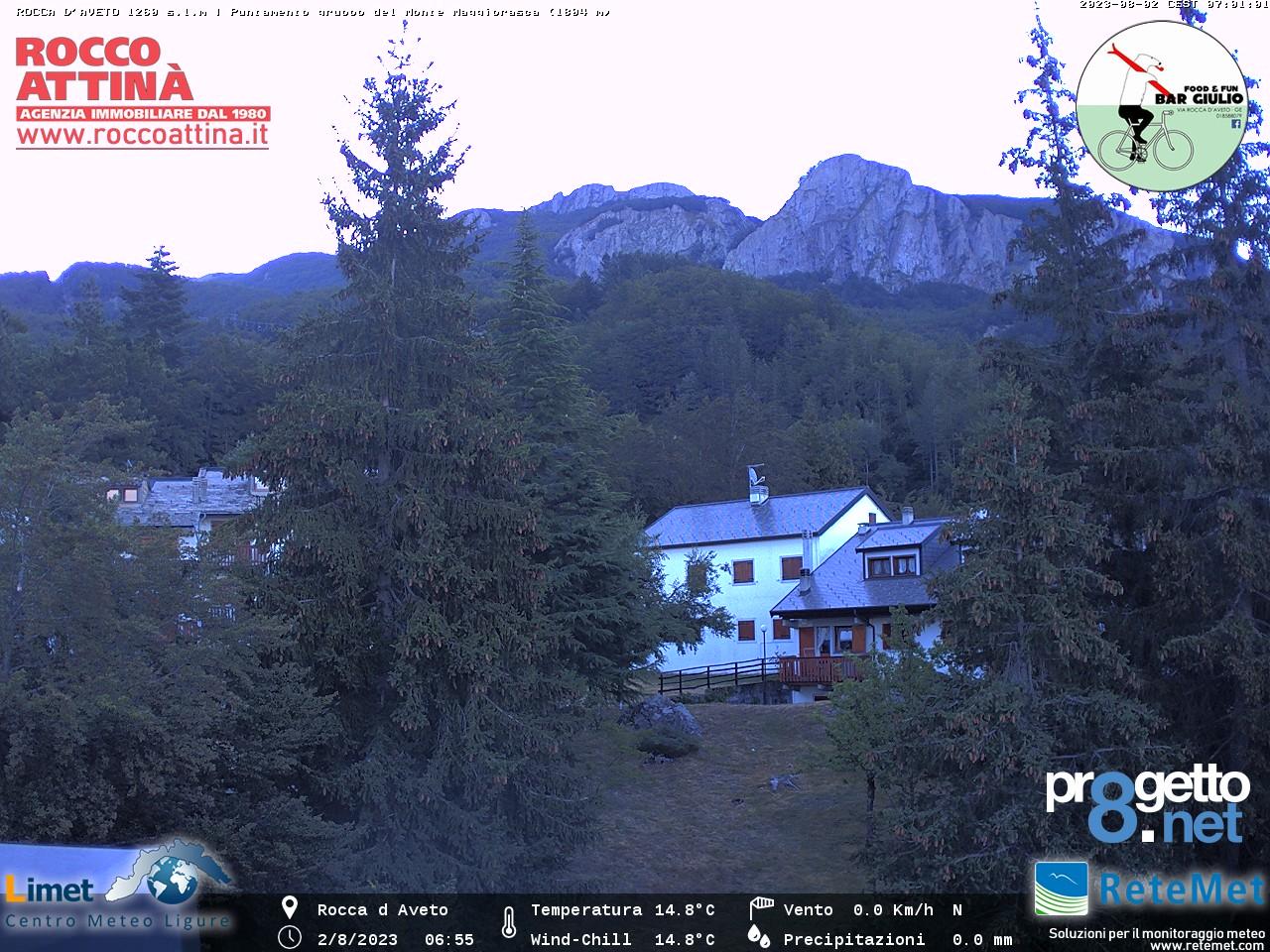 webcam Monte Maggiorasca, Rocca D'Aveto, provincia di Genova, Liguria