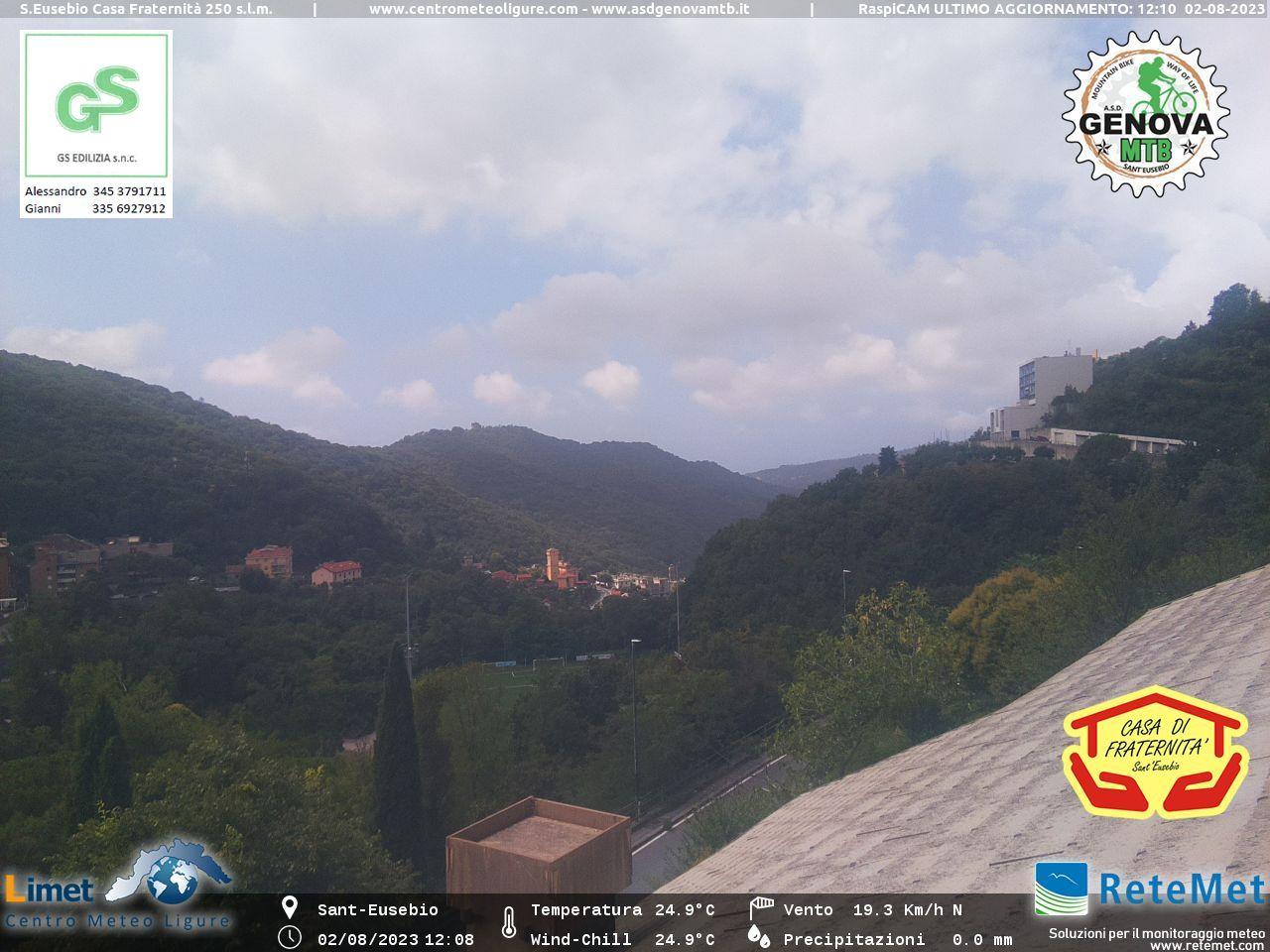 "Webcam Casa di Fraternità Sant'Eusebio"" width="